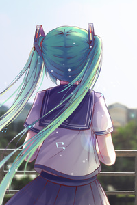 Anime Hatsune Miku 4k