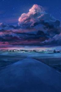 Anime Night Scenery
