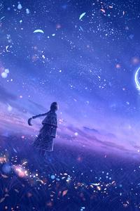 720x1280 Anime Original Dreamy Constellations Artwork