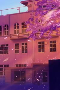 Anime School Artwork