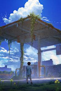1080x1920 Anime Shed 4k