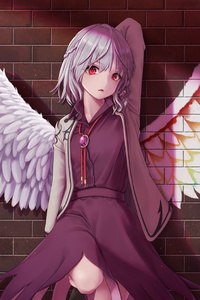 Anime Touhou Sagume Kishin Wings