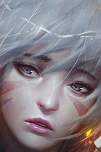 360x640 Anime Warrior Women 4k