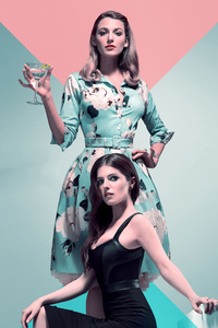 1125x2436 Anna Kendrick In A Simple Favor 4k