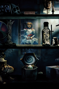 1125x2436 Annabelle Comes Home 2019 8k