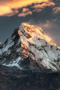 Annapurna Massif Mountain Range Nepal