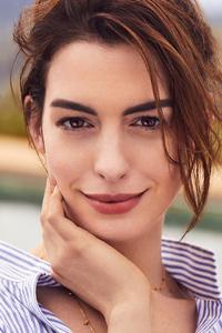 1440x2960 Anne Hathaway 2020 4k