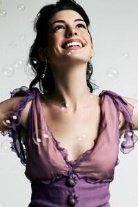 Anne Hathaway Brunette