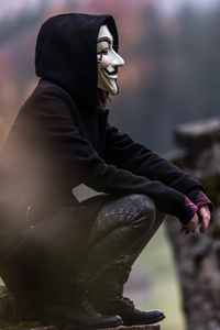 1080x2280 Anonymous Mask Guy