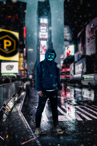 2160x3840 Anonymus Guy On Street 4k