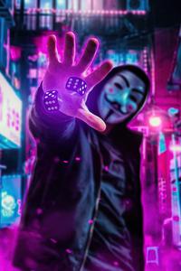 2160x3840 Anonymus Manipulation 4k