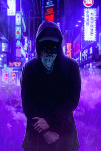 1080x2280 Anonymus Mask Face 4k