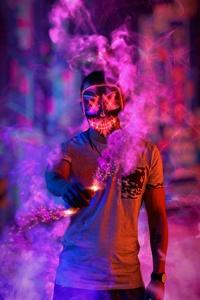 Anonymus Mask Smoke