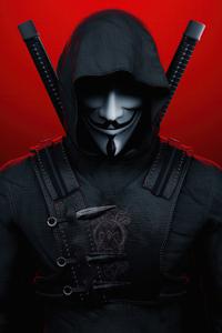480x854 Anonymus Ninja 5k