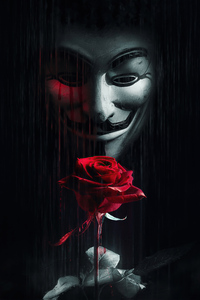 1080x2280 Anonymus Rose For You