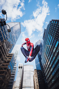 1440x2960 Another Day Of Spiderman 5k