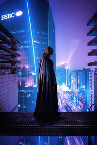 750x1334 Another Night Of Batman 4k