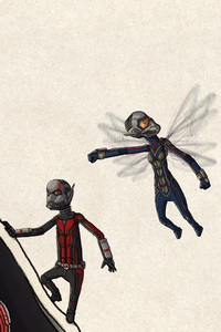 480x800 Ant Man And The Wasp Fan Art
