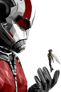 640x960 Ant Man And The Wasp Movie Poster 4k