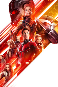 Ant Man And The Wasp Poster 4k