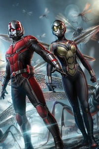 Ant Man And The Wasp Promotional Poster