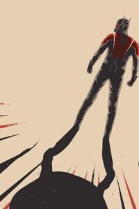 480x800 Ant Man Art