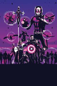 800x1280 Ant Man Captain Marvel Spiderman Dr Strange