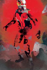 640x960 Ant Man Watercolor Art
