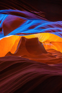 480x854 Antelope Canyon Arizona 8k