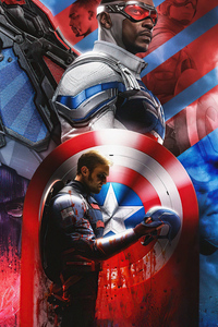 Anthony Mackie Falcon And The Winter Soldier 4k