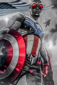 Anthony Mackie From Captain America 4k