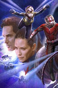 Antman And The Wasp Art