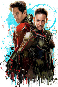 Antman And The Wasp Splash Art