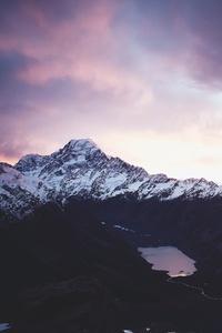 Aoraki Mount Cook National Park New Zealand Beautiful Scenery