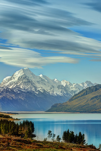 1280x2120 Aoraki Mount Cook New Zealand 8k