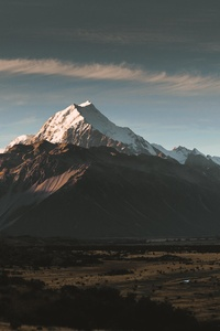240x320 Aoraki Sunset New Zealand 8k