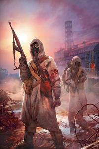 1080x1920 Apocalypse Warriors 4k