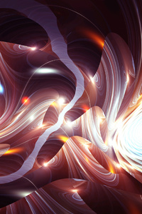 Apopysus Abstract Fractal Raw