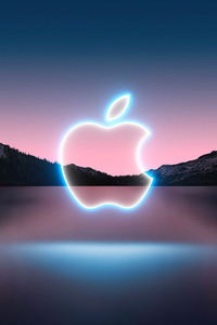 1080x2280 Apple Event 2021 Background