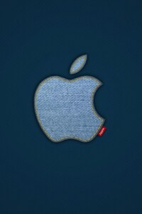 750x1334 Apple Jeans Logo