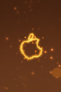 720x1280 Apple Logo Lighten 4k