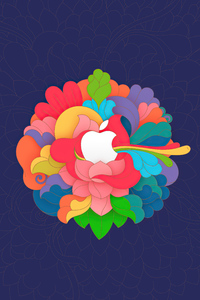1080x2160 Apple Osx Logo 5k