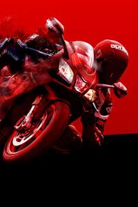 2160x3840 Aprilia Bike Art