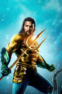 480x800 Aquaman 2 Poster Design