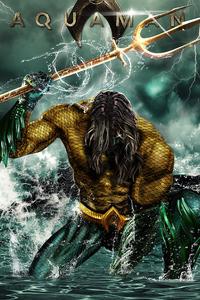 1125x2436 Aquaman 2020 Art