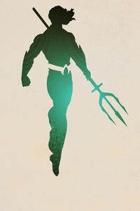1440x2560 Aquaman 4k Minimal