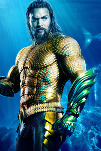 320x480 Aquaman 4k New