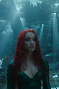 320x480 Aquaman And Mera 2018