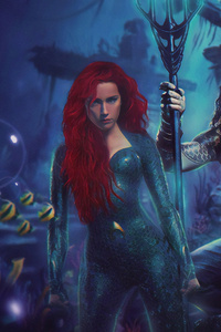 Aquaman And Mera New