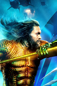 Aquaman And Ocean Master International Poster 8k